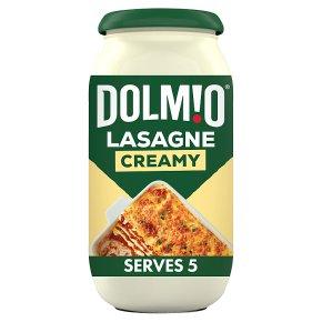 Dolmio creamy lasagne sauce