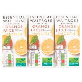 essential Waitrose Pure Orange Juice