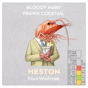 Heston from Waitrose Bloody Mary Prawn Cocktail