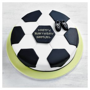 Fiona Cairns Football Cake 25cm Waitrose Partners