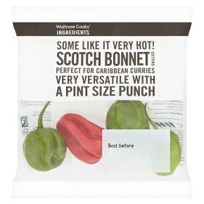 Waitrose Cooks' Ingredients chillies scotch bonnet
