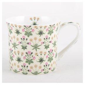 V&A Mug - Daisy Cream