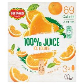Del Monte 100% Juice 3 x 75ml (225ml)