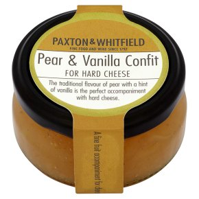 Paxton & Whitfield pear & vanilla confit