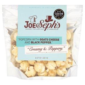 Joe & Seph's Goats Cheese & Black Pepper Popcorn