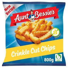 Aunt Bessie's crinkle cut chips