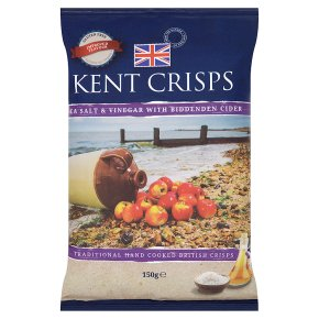 Kent crisps sea salt & cider vinegar