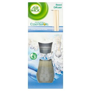 AirWick Air Freshener Reed Diffuser Crisp Linen and Lilac