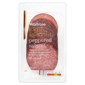 Waitrose Peppered Salami 16 slices
