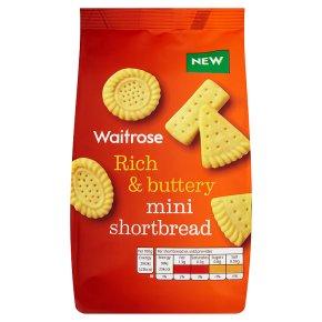 Waitrose mini shortbread