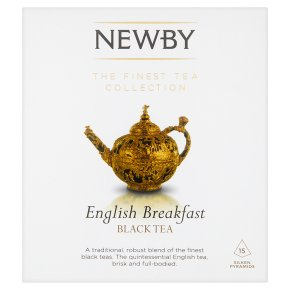 Newby English breakfast 15 silken pyramids