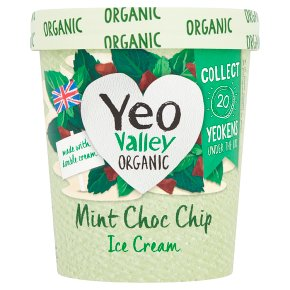 Yeo Mint Choc Chip Ice Cream