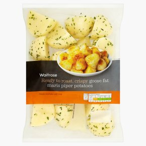 Waitrose Goose Fat Potatoes