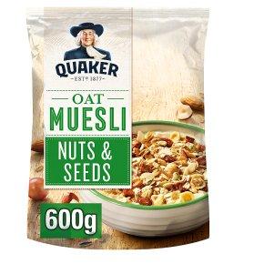 Quaker Oat Muesli Nuts & Seeds