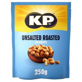 KP Unsalted Roasted Peanuts