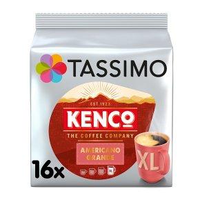 Tassimo Kenco Americano Grande XL Coffee Pods 16s