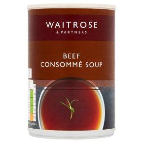 Waitrose Beef Consommé Soup