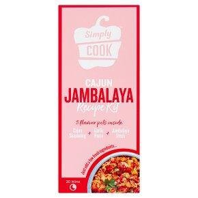 Simply Cook Jambalaya Step Kit
