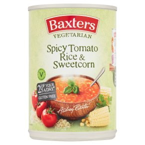 Baxters vegetarian tomato & rice