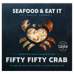 Seafood & Eat It Fifty Fifty Cornish crab