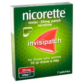 Nicorette invisi patch, 25mg