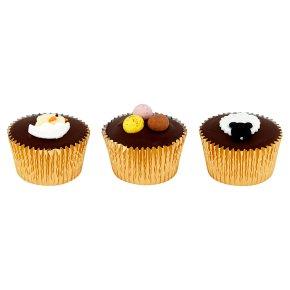 Lamb, Chick, Egg Cupcakes