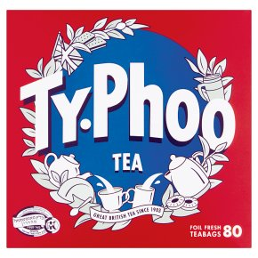 Typhoo 80 Foil Fresh Tea Bags