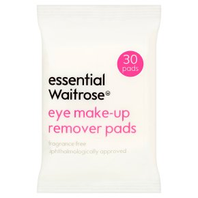 essential Waitrose make-up remover Pads