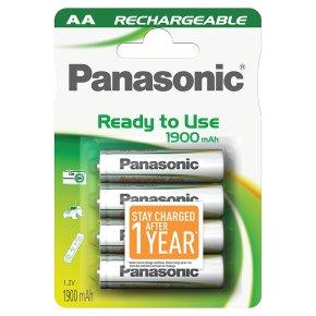 Panasonic ready to use 1900mAh AA