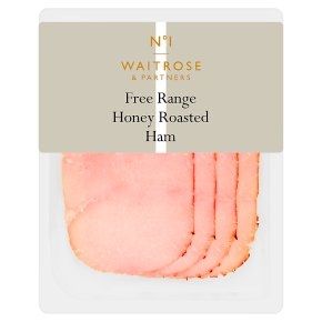 Waitrose 1 Blossom Honey Roast Ham