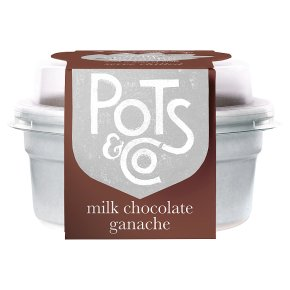 Pots & Co Milk Chocolate Ganache