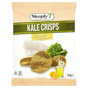 Simply 7 Kale Crisps Lemon & Olive Oil