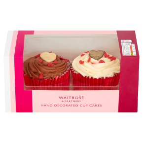 Waitrose Hand Decorated Cup Cakes
