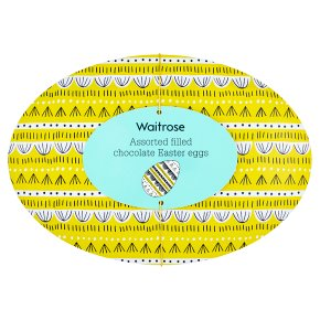 Waitrose Assorted Filled Chocolate Mini Eggs