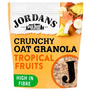 Jordans crunchy oat granola tropical fruits