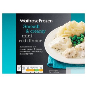 Waitrose Frozen mini cod dinner