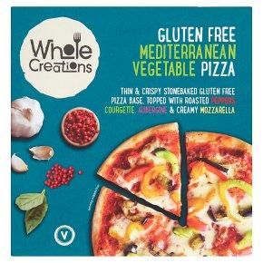 Whole Creations Pizza Mediterranean Vegetable Glutenfree