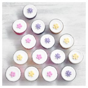 15 Lemon Blossom Cupcakes