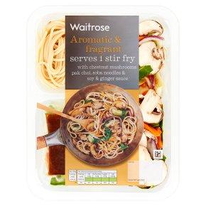Waitrose Serves 1 Stir Fry Soy & Ginger Sauce