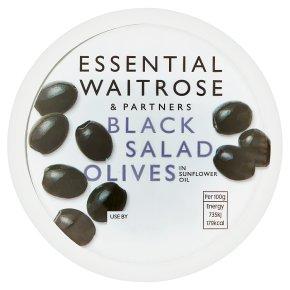 Essential Black Salad Olives
