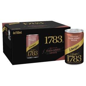 Schweppes 1783 Muscovado Dark Spirit Mixer