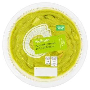 Waitrose World Deli Avocado Smash, Twist of Lemon