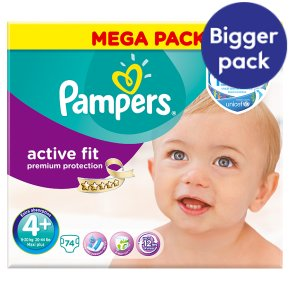 Pampers Active Fit Size 4+