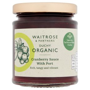 Duchy from Waitrose Cranberry with Port