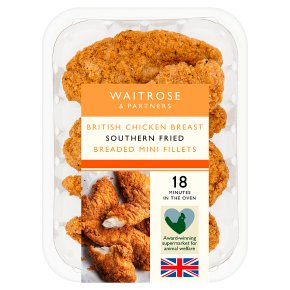 Waitrose Southern Fried Breaded Mini Fillets