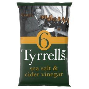 Tyrrells Sea Salt & Cider Vinegar 6