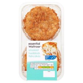 essential Waitrose Smoked Haddock Cod Fishcakes