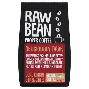 Raw Bean Deliciously Dark Ground Coffee