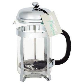 Waitrose Chrome 12 Cup Cafetiere