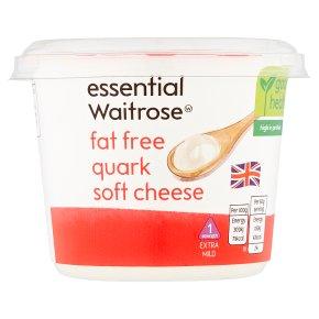 essential Waitrose Fat Free Quark Soft Chse S1